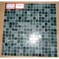Buy cheap Marble Mosaic JX-MBM071 Green-Marble(polished) product
