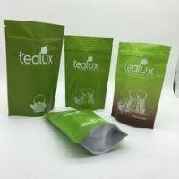 Buy cheap Green Metallized Stand Up Pouches , Aluminium Foil Sachets Resealable Coffee Bags With Valve from wholesalers