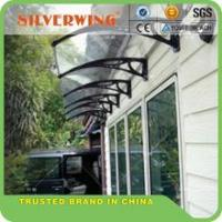Buy cheap 60/80/100 Plastic support canopy white,black,grey Hollow/solid Sheet used awnings for sale from wholesalers