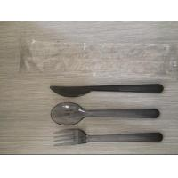 Buy cheap Airline Disposable Plastic Cutlery Set, Made Of Plastic PS from wholesalers