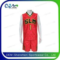 Buy cheap 2016 best latest basketball uniform design from wholesalers
