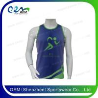 Buy cheap Wholesale tank tops men dry fit unisex sports singlets from wholesalers