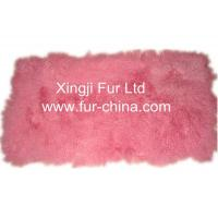 Buy cheap Plucked Chinchilla Rabbit Skin Plate from wholesalers