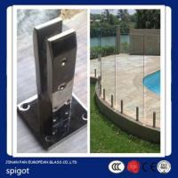 Buy cheap glass balustrades spigots,stainless steel glass pool fence spigot,stainless steel glass spigot from wholesalers