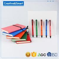 Wholesale promotional notebook set custom notebook with pen