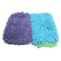 Buy cheap Auto Clean Microfiber Chenille Mitt from wholesalers