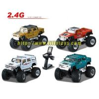 Buy cheap MC-21121152.4Ghz 4CH Full Scale Emulational 1:43 R/C Mini Hummer Car from wholesalers
