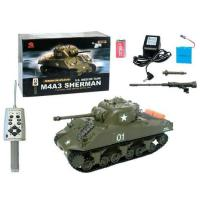 Buy cheap TT-3841-11:30 RC TANK - M4A3 SHERMAN Battle Toy from wholesalers