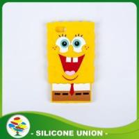 Buy cheap Best-Selling SpongeBob Silicone Cellphone Case from wholesalers