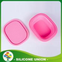 Buy cheap 2016 Hot Selling Custom Pink Pet silicone Dog Bowl from wholesalers