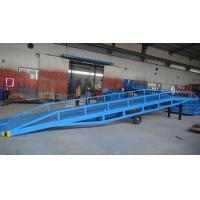 Buy cheap 12ton 16ton Manual Hydraulic Truck Fixed Container Dock Ramp from wholesalers