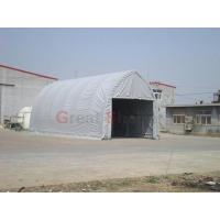 Buy cheap 5m Wide Rectangle Tubing Fabric Building Container Shelters from wholesalers
