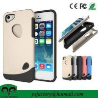 Buy cheap best quality tpu+ pc mobile phone cover for iphone 5s from wholesalers
