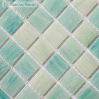 Buy cheap Light blue glass tiles for swimming pool SP020 product