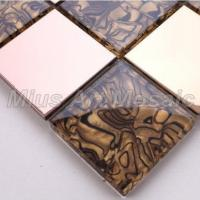 Buy cheap 2x2 Inch Metal Mosaic Tiles A41902 from wholesalers