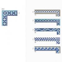 Buy cheap Swimming pool glass mosaic border 006 from wholesalers