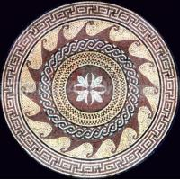 Buy cheap Good quality Round stone Floor Medallions C6F013 product