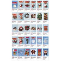 Buy cheap CHRISTMAS DECORATION GARLAND AND SANTA AND SNOWMAN from wholesalers