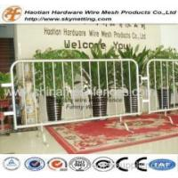 Buy cheap Road Movable PVC Powder Painted Crowd Control Barrier / Road Barrier from wholesalers
