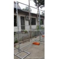 Buy cheap 6ft chain link netting type galvanized temporary fence construction panels from wholesalers