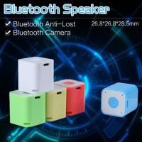 Newest Selfie function 2015 mini bluetooth speaker bluetooth selfie speaker blue