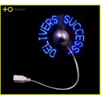 Buy cheap customize usb driver led message fan from wholesalers