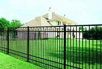 Buy cheap 2400 mm Wide * 2100 mm ornamental aluminium fence from wholesalers