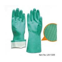 Buy cheap Green Nitrile Industrial Glove -US11205 from wholesalers