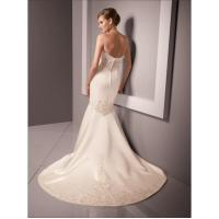 Buy cheap wedding gown fabric types Wedding Gown Fabric from wholesalers