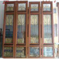 Buy cheap Iron wood casement window grill design from wholesalers