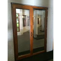 Buy cheap Nice appearance wooden entrance doors casement style from wholesalers