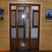 Buy cheap Good quality wooden tilt and sliding french patio doors from wholesalers