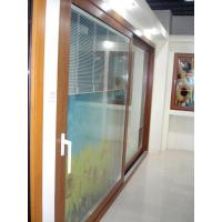 Buy cheap Simple texture solid wood internal sliding doors from wholesalers