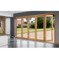 Buy cheap Solid wood folding type external french doors from wholesalers