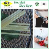 Buy cheap High Adhesion 11mm Non Toxic Hot Glue Sticks / Yellow Glue Sticks For Hot Glue Gun from wholesalers