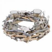 Buy cheap 2017 Exqusite modern design wooden candle holder for sale from wholesalers