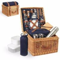 Buy cheap cheap handmade wholesale White wicker picnic basket for sale from wholesalers