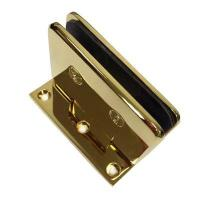 Buy cheap BA-401-90S DORMA style Gold plated wall mounted glass door hinge from wholesalers