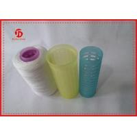 Buy cheap 40s / 2 Raw White Ring Spun Polyester Yarn , Sewing Machine 100 Polyester Yarn product