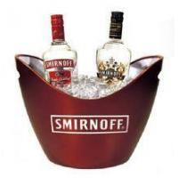 Buy cheap large plastic acrylic champagne wine cooler bucket for wholesale from wholesalers