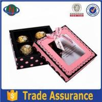 Buy cheap Celebration Chocolate Paper Box With Blister from wholesalers