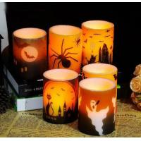Buy cheap Title:bars decoration paraffin wax Hallowmas LED candle lamp from wholesalers