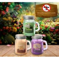 Buy cheap Title:outdoor garden mosquito repellent citronella candle in glass from wholesalers