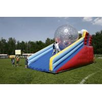 Buy cheap AF-Zb05Inflatable zorb ball track for kids from wholesalers