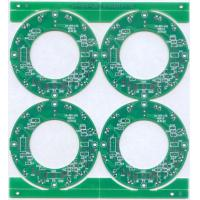 Buy cheap 0.8MM FR4 2L 1OZ Copper size Green soldermask White Silkscreen HASL PCB from wholesalers