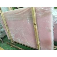 Buy cheap Interior application Pink Onyx Slab product