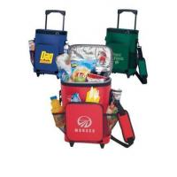 Buy cheap Personalized 18-Can Rolling Insulated Cooler Bags from wholesalers