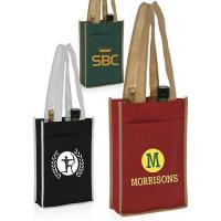 Buy cheap Two Bottle Non-Woven Wine Bags product