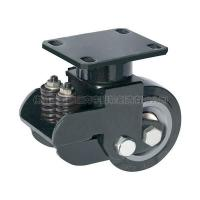 Buy cheap Extra Loading Polyurethane Shock Absorber Caster(Black) from wholesalers