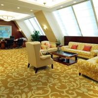 Buy cheap Acrylic hand made carpet meeting room carpet from wholesalers